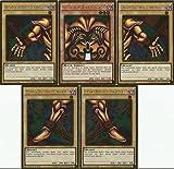 Yu-Gi-Oh! Exodia Komplett Set - Gold Rare - 1.Auflage - Deutsch