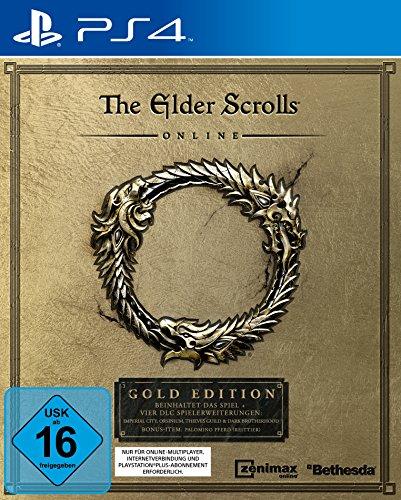 The Elder Scrolls Online: Gold Edition [PlayStation 4] (Elder Pc Iv Scrolls)