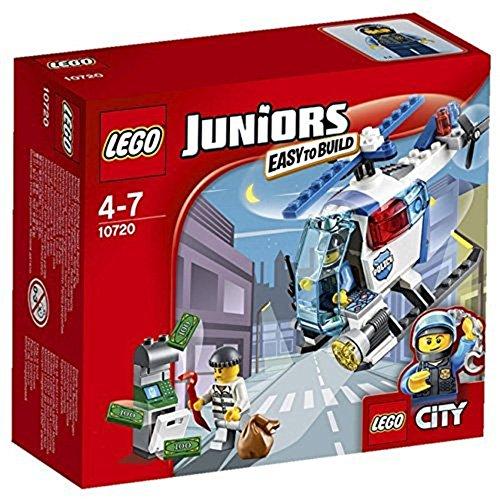 LEGO Juniors 10720 - Verfolgung mit dem Polizeihelikopter -