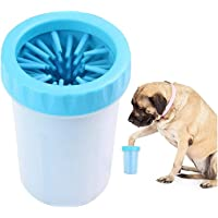 The DDS Store Dog Paw Cleaner, Portable Washer Cleaning Brush Cup for Wash Away Sediment - Color May Vary (Medium)
