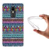 WoowCase Elephone S3 Hülle, Handyhülle Silikon für [ Elephone S3 ] Azetikischer Stamm Handytasche Handy Cover Case Schutzhülle Flexible TPU - Transparent