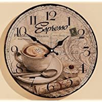 Suchergebnis auf Amazon.de für: wanduhr kaffee: Küche, Haushalt & Wohnen