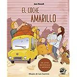 El coche Amarillo (En Letra Mayúscula y de imprenta): En letra MAYÚSCULA y de imprenta: libros para niños de 5 y 6 años: 8 (A