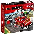 LEGO UK 10730 Cars 3 Lightning McQueen Speed Launcher