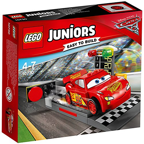 Image of LEGO UK 10730 Cars 3 Lightning McQueen Speed Launcher