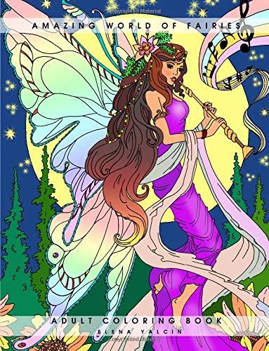 Preisvergleich Produktbild Amazing World of Fairies: Adult Coloring Book