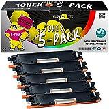 Yellow Yeti 5er Pack 126A CE310A CE311A CE312A CE313A Premium Toner kompatibel für HP Laserjet Pro M175nw M175a CP1025 CP1025nw TopShot MFP M275 M275a M275nw [3 Jahre Garantie]