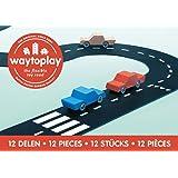 waytoplay 12 Ringroad, Building Set, Schwarz mit Weiß Striping