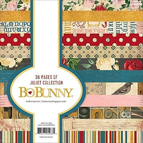 Bo Bunny Paper Pad 6-inch x 6-inch 3Juliet