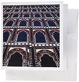 3drose Muster von Gebet Teppiche Islamische Moschee Kairo egypt-af14aje0030Adam Jones Grußkarten, Set 6(GC 74155_ 1)