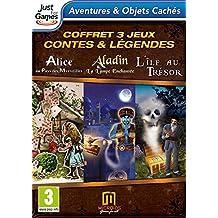 Triple pack : Aladin + Alice au Pays des Merveilles + L'île au Trésor