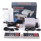 Mini NES TV Game Retro Video Games Console Ingebouwde 620 klassieke games met 2 controllers voor kinderen, volwassenen, gezin