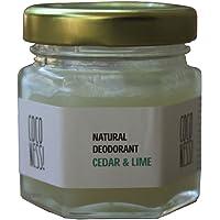 Coconess Natural Deodorant: Cedar & Lime