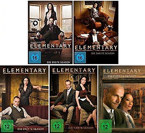Preisvergleich Produktbild Elementary Season 1-5 im Set - Deutsche Originalware [30 DVDs]