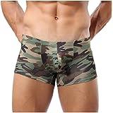 Man Boxer Briefs,Ronamick Men's Military Camouflage Bulge Pouch Boxer Briefs Trunks Underwear Underpant