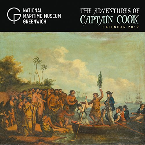 National Maritime Museums - Adventures of Captain Cook 2019 Calendar