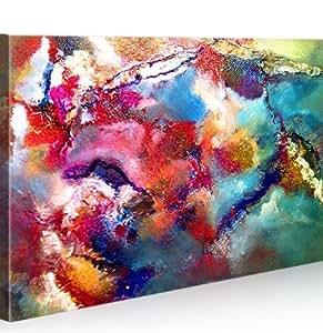 Cornwall Abstrakte Kunst 100x65 Leinwand * Bilder auf