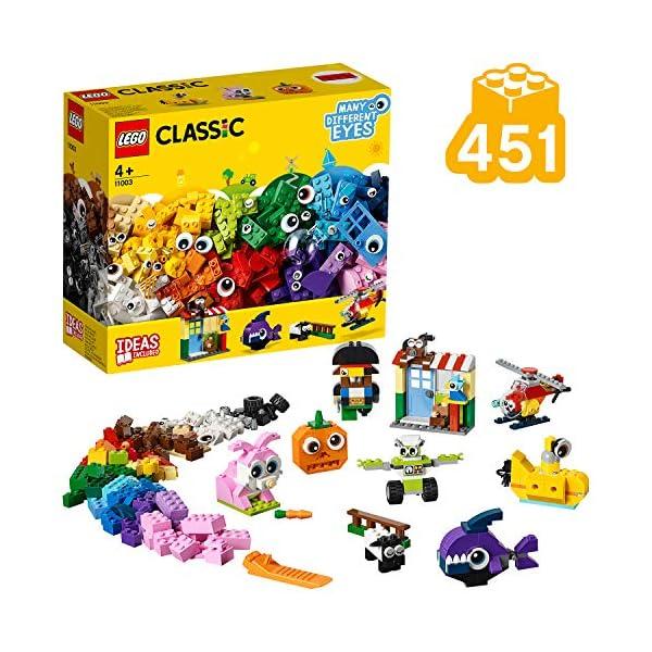 LEGO Classic 11003 Mattoncini e Occhi Set di Costruzioni Creativo, Regalo per Bambini +4 Anni 1 spesavip