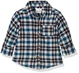 Mamas & Papas Brushed Shirt, Camisa Para Bebés, Multicoloured (Brown Check), 2-3 Años