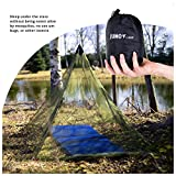 junocamp Personal mosquitera para Camping y viaje, Ejército Verde, Green, New