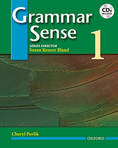 Grammar Sense 1. Student's Book and CD Pack: Student Book and Audio CD Pack Level 1
