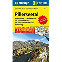 Pillerseetal XL 1 : 25 000: Wander-, Rad- und Mountainbikekarte. GPS-genau
