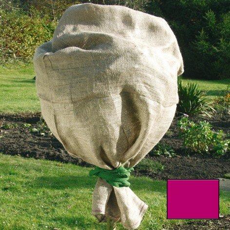 Star green tower sac en jute 60x80cm rouge 141353