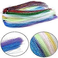 Phad Fishing 10 Mehrere Farben Kristall Flash Line für Fliegenfischen Fliegen Binden Materialien