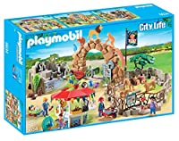 Playmobil 6634 City Life Large City Zoo with 11 Animals