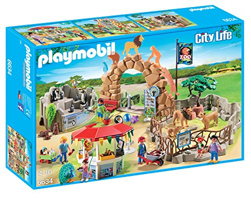 Playmobil 6634 City Life Large City Zoo with Many Animals