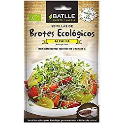 Semillas Ecológicas de Alfalfa - Batlle 9,07 g