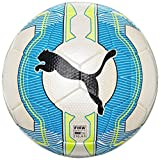 PUMA Fußball evoPOWER 2.3 Match FIFA Approved, white/atomic blue/safety yellow, 3, 082553 01