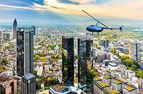 Jochen Schweizer Geschenkgutschein: Hubschrauber-Rundflug über Frankfurt