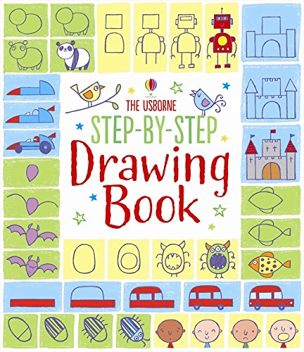 Step-by-step drawing book par Fiona Watt