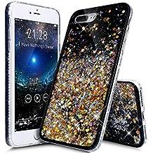 carcasa iphone 6 purpurina liquida