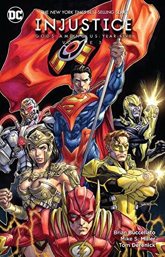 Injustice: Gods Among Us: Year Five Vol. - Black Comics Lantern Dc