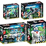 PLAYMOBIL Ghostbusters Set: 9220 9221 9223 9224 Ecto-1 + Stay Puft...