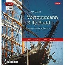 Vortoppmann Billy Budd: Lesung mit Hans Paetsch (1 mp3-CD)