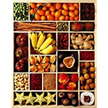 Frutas - Exotic Fruits Póster Impresión Artística (30 x 24cm)
