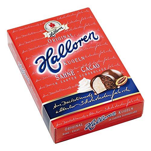 Halloren Kugeln Sahne Cacao Creme 125g Ostprodukt