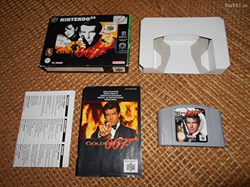 James Bond 007 Golden Eye Nintendo 64 Spiel