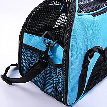 Treat Me Dog Travel Carrier Breathable Portable Easy to Clean 3