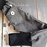 Graue Cord Pumphose schwarz so cool 92 - 152 Waldorf