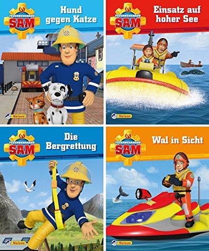 4er Feuerwehrmann Sam 5-8 (Nelson Mini-Bücher)