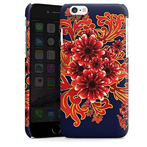 Apple iPhone 5 Housse étui coque protection Fleur Motif Motif Cas Premium brillant