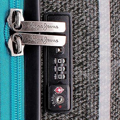 618v2IwckRL. SS416  - Pepe Jeans Teo Equipaje de Mano, 50 cm, 32 litros, Gris