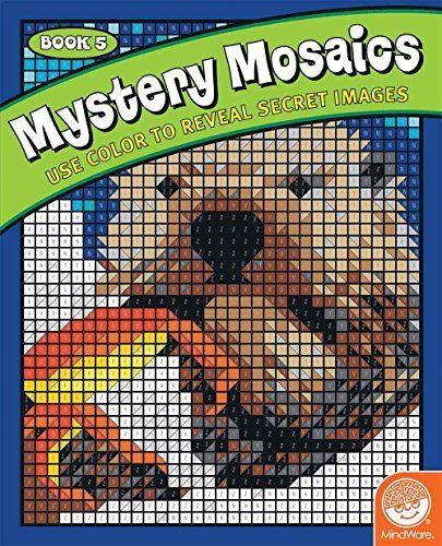Mystery Mosaics: Book 5 Game by MindWare