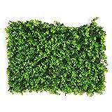 künstliche Buchsbaum Hecke faux grün Privatsphäre Zaun Bildschirm gefälschte Grün Platten Kulissen Wand Dekor Kunststoff Landschaftsbau Garten Zaun Gitter von yunhigh