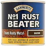 Hammerite No.1 Roest Beater Donker Bruin 250ml