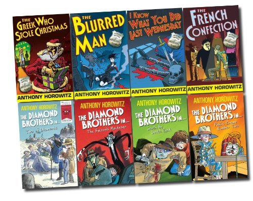 Brothers Diamond (The Diamond Brothers 8 Books Set Detective Agency Collection (French Confecti...)